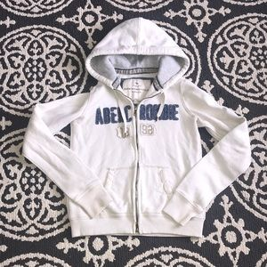 Abercrombie and Fitch zip up